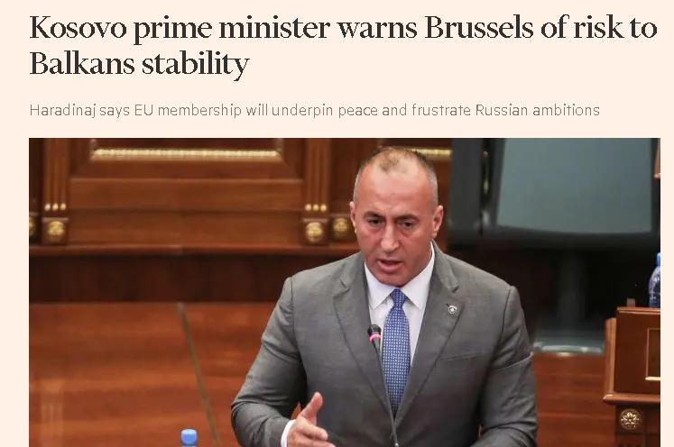 Haradinaj: Balkan može da se destabilizuje