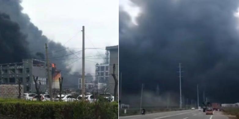 Snažna eksplozija u fabrici u istočnoj Kini