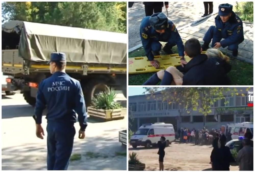 Na Krimu izveden teroristički napad, raste broj poginulih