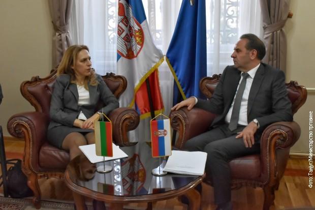 Ljajić i Nikolova o unapređenju političkih i privrednih odnosa
