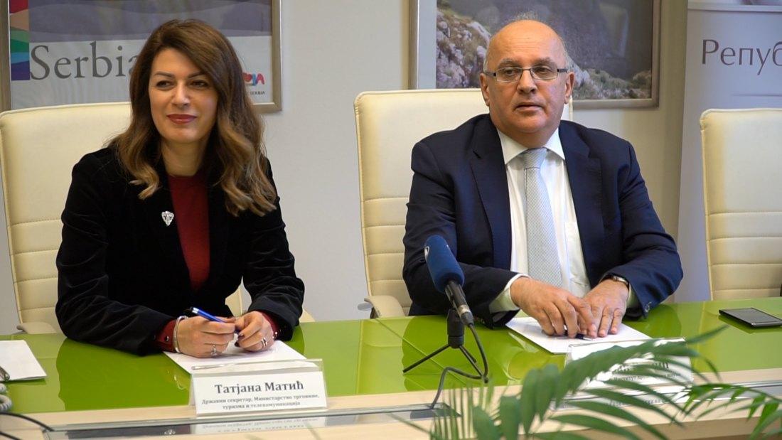 Sporazum Ministarstva trgovine i Instituta društevnih nauka