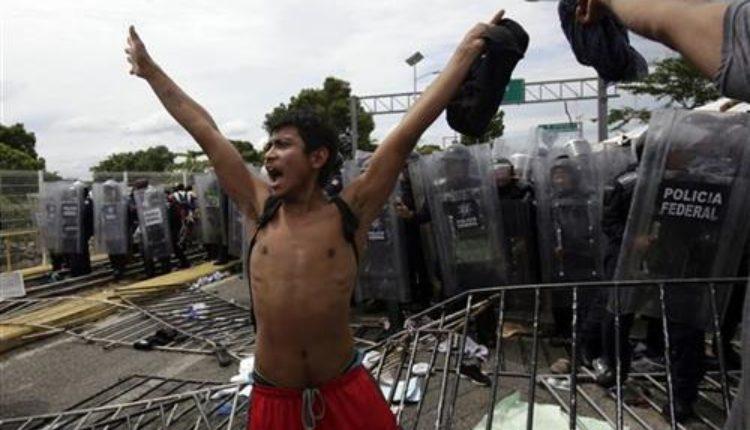 Migranti probili ogradu na granici sa Gvatemalom