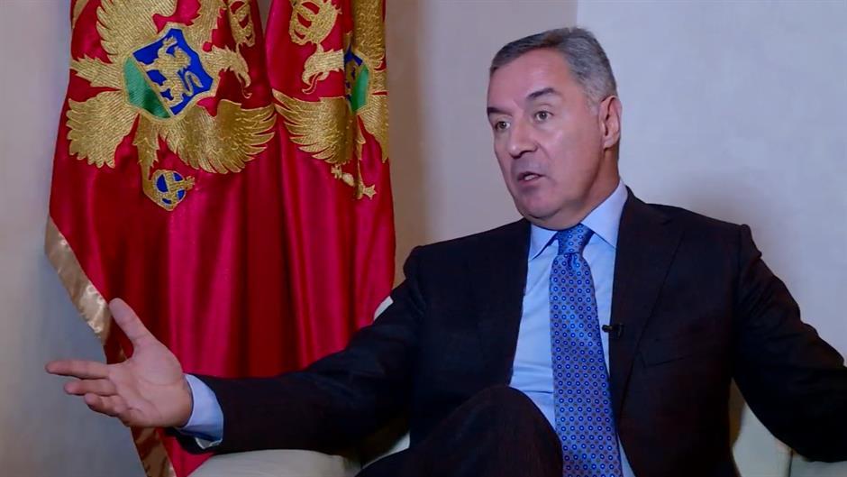 Ðukanović protiv korekcije granice između Srbije i Kosova