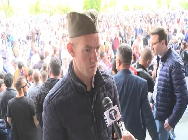 I Milan Kovačević iz Srbice došao na skup u Beograd