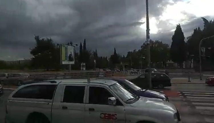 Jako nevreme u Podgorici, poplavljene ulice