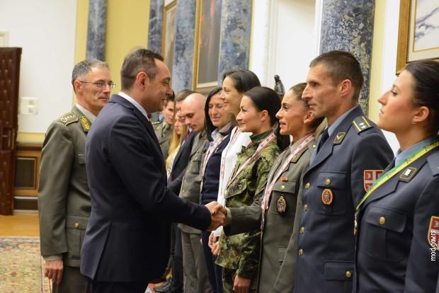Vulin: Vojska Srbije formira sportsku jedinicu