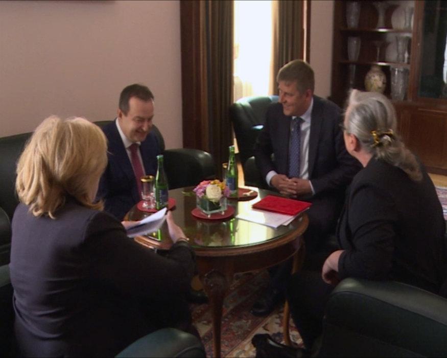 Dačić u Pragu razgovarao sa Tomašom Petričekom