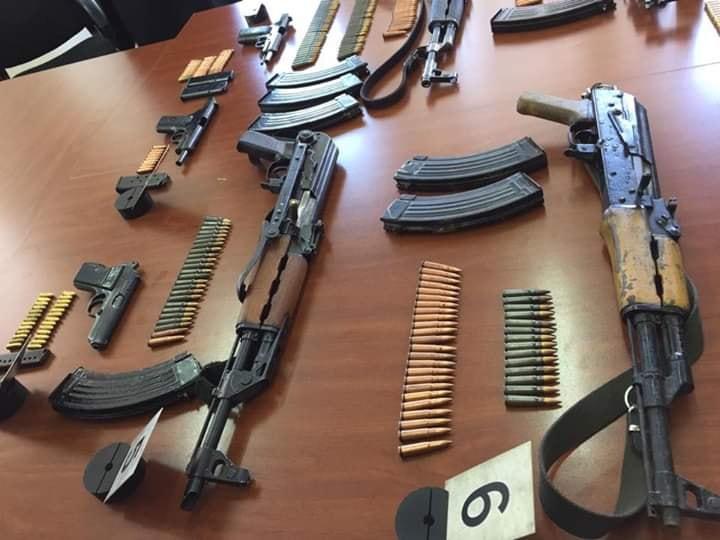 Policija zaplenila oružje i municiju