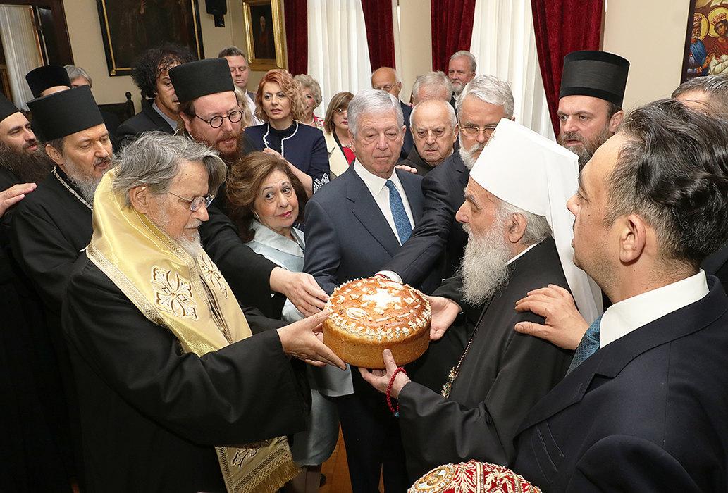 Patrijarh proslavio krsnu slavu, prisustvovao Vučić