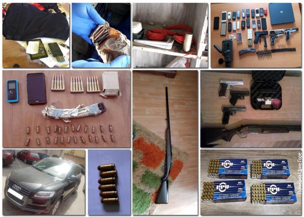 Pretres 22 lokacije u Crnoj Gori, zaplenjeno oružje