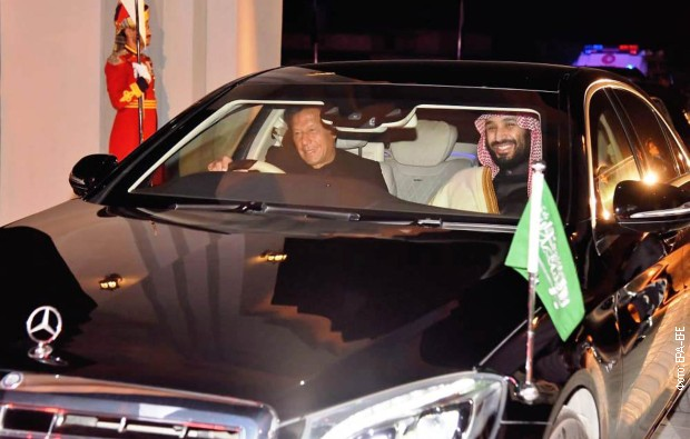 Princ Salman: Sporazumi sa Pakistanom vredni 20 milijardi dolara