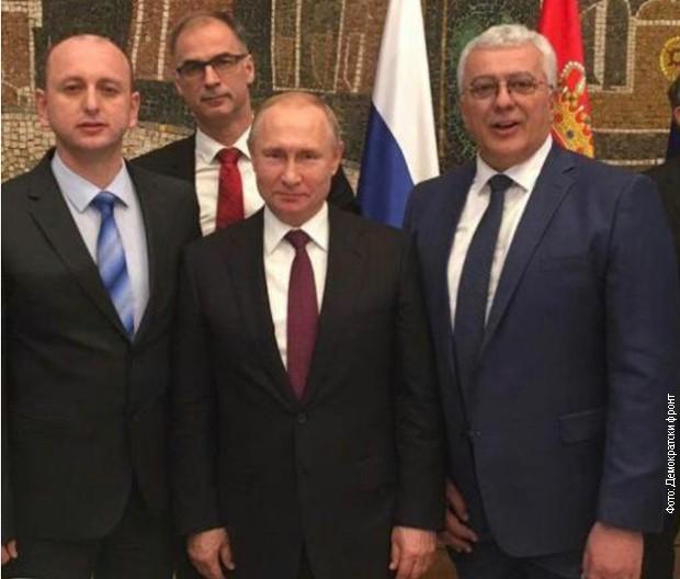 Putin liderima Demokratskog fronta: Vi ste pravi heroji