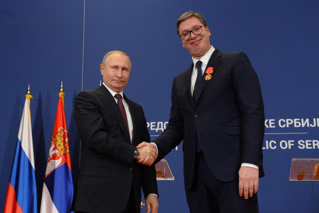 Putin podsetio: Srbija nije sama u rešavanju pitanja KiM