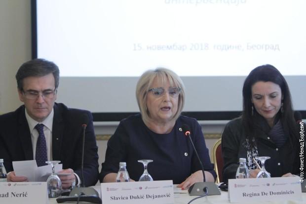 Đukić Dejanović: Angažovati sve kapacitete da svako dete ostvari sva svoja prava