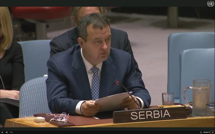 Dačić: Sednica SB UN biće otvorena za javnost