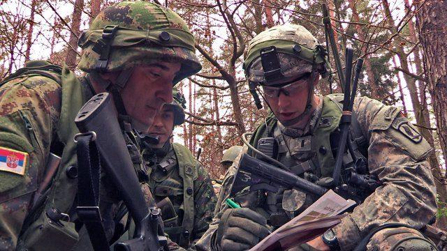 NATO objavio snimak vežbe sa Srbijom