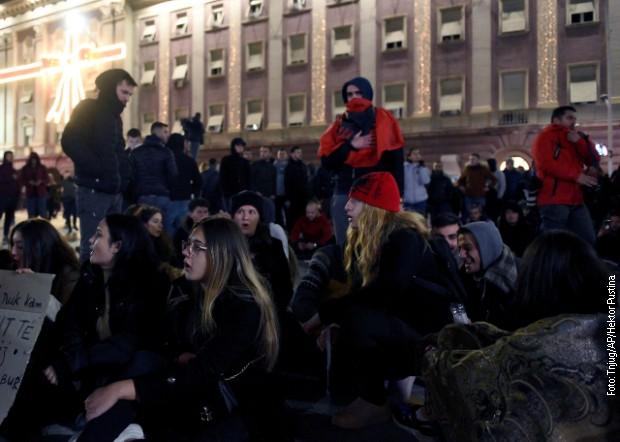 Tirana, studenti odbijaju poziv vlade na dijalog