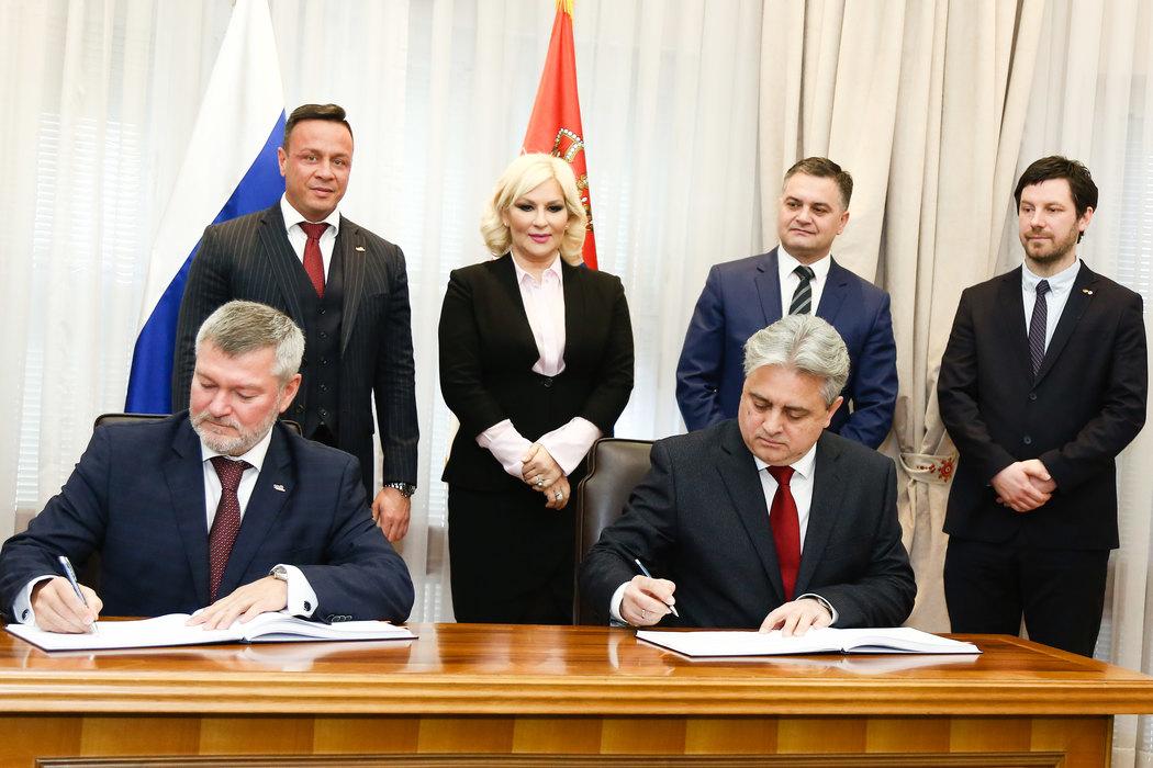 Potpisan novi ugovor sa Ruskim železnicama vredan 230 miliona evra