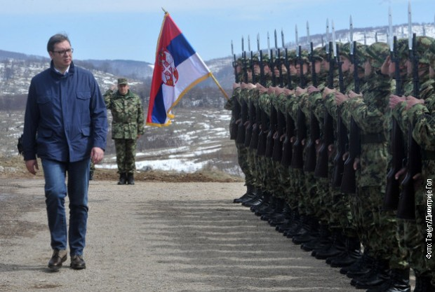 Vučić u Kopnenoj zoni bezbednosti naredna 72 sata