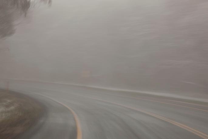 Mećava na autoputu: saobraćaj otežan