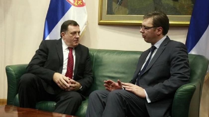 Sastanak Vučića i Dodika