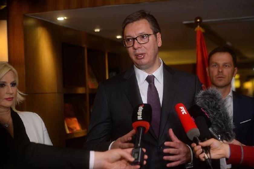 Vučić: Šokiran sam bezobrazlukom Prištine