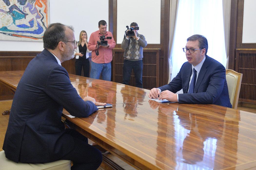 Vučić i Fabrici o evropskom putu Srbije