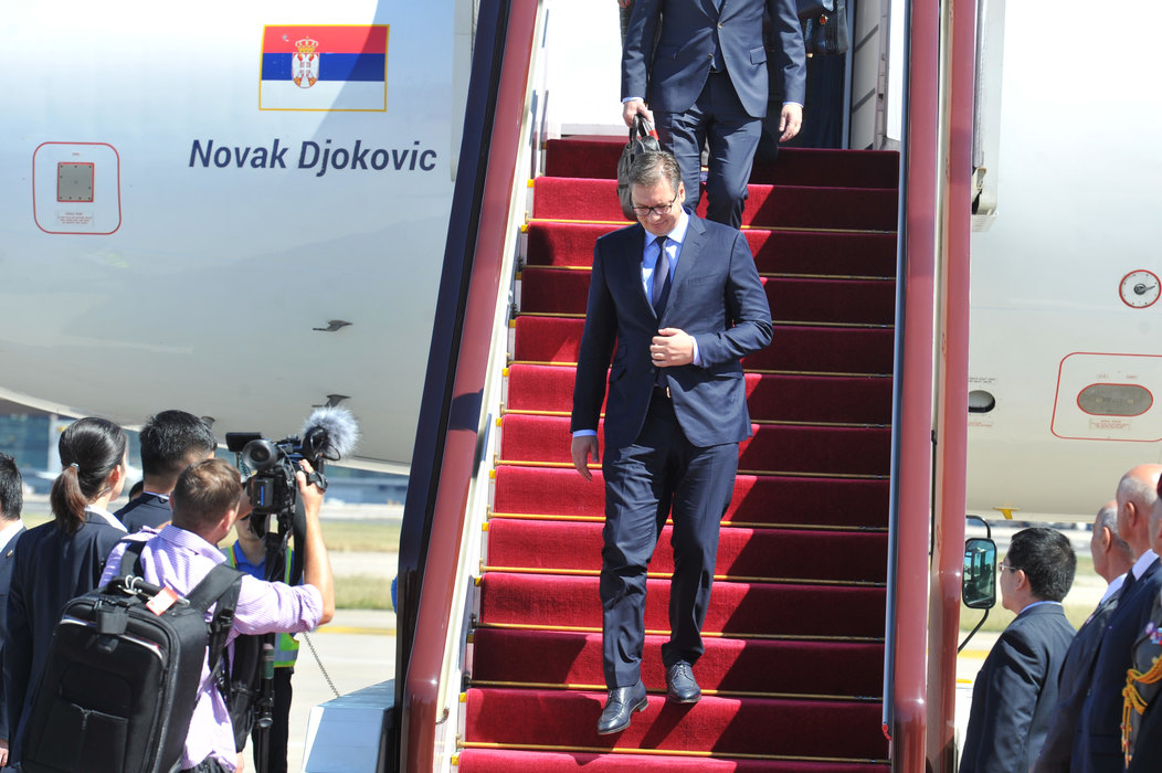 Vučić od sutra u Pekingu na Forumu