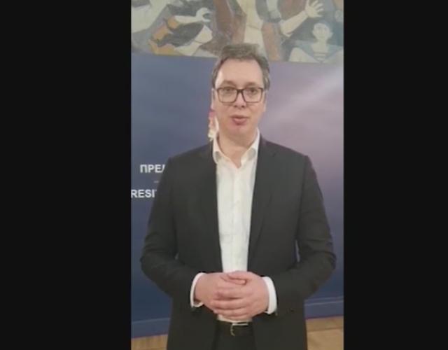 Vučić: Ovde sam, nikada neću odustati od borbe za pristojnu Srbiju