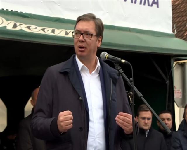 Vučić: Mnogo sam zabrinut zbog Kosova i Metohije, ali ne mislite da sam slab