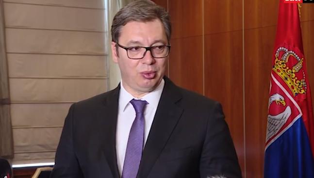 Vučić se sutra obraća medijima