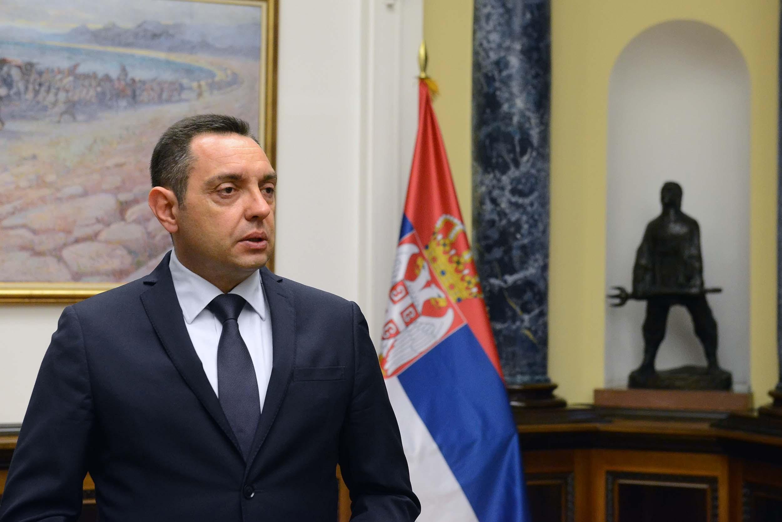 Vulin o pretnjama Kadrija Veseljija: Oni koji hrane Srbijom Veliku Albaniju ostaće bez zemlje